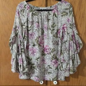 Fever Tops - Fever Rayon Top. Sz S (M)